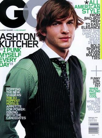 Ashton Kutcher. Since I've already spent so much time discussing how