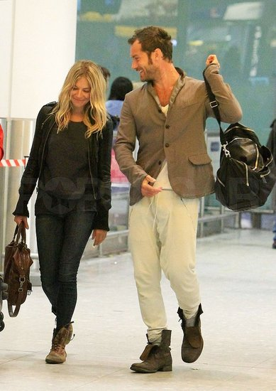Jude Law and Sienna Miller are going to start living together 15.12.2009 16